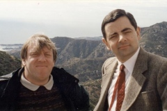 Robin & Rowan in Hollywood.