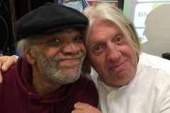 With the excellent Paul Barber.